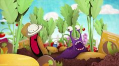 Innocent Garden by Blue Zoo. We designed and animated this commercial for Innocent's Smoothies for Kids