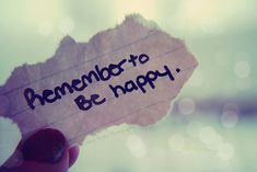 Best advice I ever got. Sincerely . Just be happy. God is good