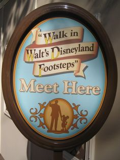 Walk in Walt's Disneyland Footsteps Tour ~ New in 2012 | The DIS Unplugged Disney Blog