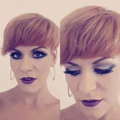 Makeup for dance competition  Blackpool 2017