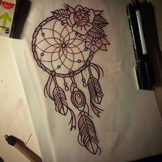 dibujos atrapasueños con plumas de pavo real - Buscar con Google
