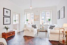 Паркетные полы в дизайне интерьера квартиры