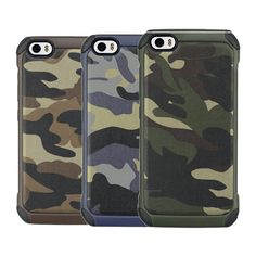 Camouflage Hybrid Hard PC Back & TPU Cover Shockproof Case For Xiaomi Mi5