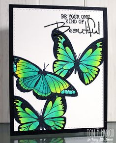 MFT: Inspired by Butterflies, Copic masking, tutorial, Frankie Helps Craft: Bullet Journal Lettering Ideas, Bullet Journal Art, Bullet Journal Ideas Pages, Bullet Journal Inspiration, Birthday Card Drawing, Doodle Art Designs, Copics, Paper Cards, Easy Drawings