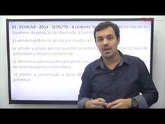 Resolução de Questões FUNCAB de Direito Constitucional - Professor Leona...