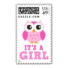 ==>Discount          Cute pink owl cartoon its a girl new baby stamp           Cute pink owl cartoon its a girl new baby stamp We have the best promotion for you and if you are interested in the related item or need more information reviews from the x customer who are own of them before please...Cleck Hot Deals >>> http://www.zazzle.com/cute_pink_owl_cartoon_its_a_girl_new_baby_stamp-172851402600380272?rf=238627982471231924&zbar=1&tc=terrest