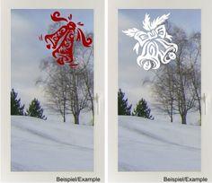 Weihnachtsglocken - Tribal - Fenster-Tattoo von DOON Germany auf DaWanda.com