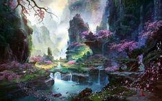 fantasia landscape - Google Search