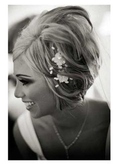 Short Hairstyles for Bridal-8