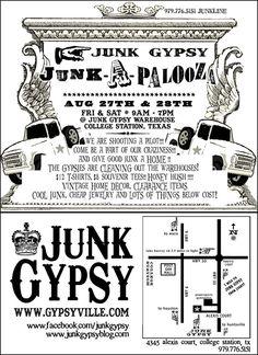 "Cute creative show on HGTV ""Junk Gypsies"""