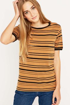 BDG Striped Ringer T-shirt