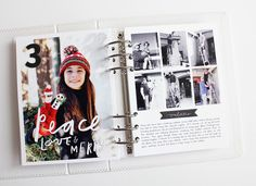 So I'm at it again, year Holy smokes I cannot believe this is my tenth December Daily® album. What an amazing project this has been and. Christmas Journal, Christmas Scrapbook, Pocket Scrapbooking, Scrapbooking Layouts, Memories Photography, Daily Journal, December Daily, Travel Scrapbook, Mini Books