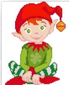 Christmas Elf C2C Graph by CrochetGraphsDesigns on Etsy