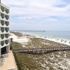 Beachfront Holiday Inn Express In Pensacola Beach, Florida. #ExplorePcola