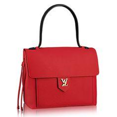 Designer Louis Vuitton LockMe PM M50360 Rubis