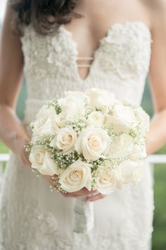 gypsophilia & roses- gypsophilia is very popular at the moment- but I know it's a love it or hate it flower
