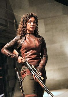 Gina Torres as former cpl. Zoe Washburne on Firefly Gina Torres, Joss Whedon, Fantasy Faction, V Model, Westerns, Strong Female Characters, Epic Characters, Firefly Serenity, Movies