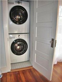 washer dryer in the kitchen - Google Search