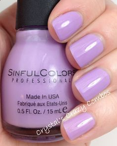 Sinful Colors - Sweet Tooth (Sugar Rush Collection) / CrystalsCrazyCombos
