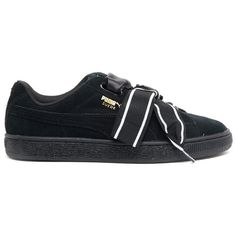PUMA  Suede Heart Satin  Sneakers ( 98) ❤ liked on Polyvore featuring  shoes a88befaa0