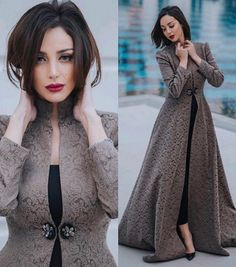New Dress Hijab Gowns Style 17 Ideas – Hijab Fashion 2020 Indian Gowns Dresses, Modest Dresses, Stylish Dresses, Evening Dresses, Dresses With Sleeves, Hijab Gown, Hijab Dress Party, Hijab Style Dress, Abaya Fashion