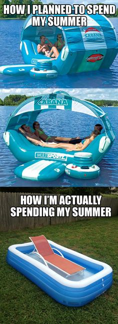 Want this floaty thing! haha