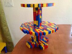 LEGO Cupcake Plate - easy-ish to make!