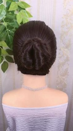 Bun Hairstyles For Long Hair, Hairstyle Braid, Braided Hairstyles Updo, Braided Updo, Party Hairstyles, Beautiful Hairstyles, Quick Hairstyles, Hairstyles For Girls Easy, Hairstyle For Medium Length Hair