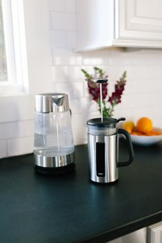 @oxo / 8-Cup French Press and Glass Electric Kettle