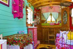 Gypsy wagon you can rent!