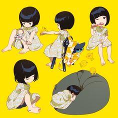 『夏と女の子』 竹 ー 『星海社竹画廊』 | 最前線