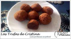 Trufas Dukan de Chocolate  ricas en proteína - Navidad Dukan