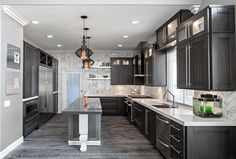 grey hardwood floors ideas modern kitchen interior design dark grey kitchen cabinets white countertops