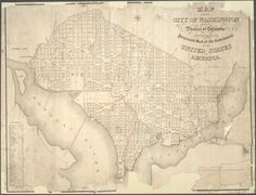 "Lionel Pincus and Princess Firyal Map Division, The New York Public Library. ""Map of the city of Washington in the District of Columbia : established as the permanent seat of the government of the UnitedStates of America."" The New York Public Library Digital Collections. 1839. http://digitalcollections.nypl.org/items/510d47de-1008-a3d9-e040-e00a18064a99"