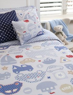Kids Bedroom Linen land of nod kids bedding: kids guitar music pattern bedding like