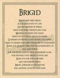 Parchment Celtic Triple Goddess BRIGID Book of Shadows Page Wicca Witchcraft Celtic Goddess, Celtic Mythology, Celtic Paganism, Brighid Goddess, Celtic Prayer, Celtic Druids, Goddess Symbols, Celtic Symbols, St. Lucia