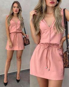 Simple Dresses, Cute Dresses, Casual Dresses, Casual Outfits, Summer Outfits, Cute Outfits, Summer Dresses, Work Outfits, Dress Outfits
