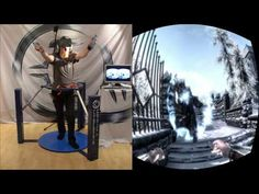 The Closest You Can Get To Actually Being In Skyrim! Skyrim in VR - Cyberith Virtualizer + Oculus Rift + Wii Mote = Full Immersion