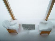 A Wy jak przygotowujecie taras do zimy? #deskinataras #snow