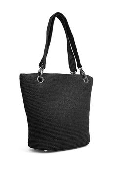 Paper Straw Shopper Tote by Magid on @HauteLook