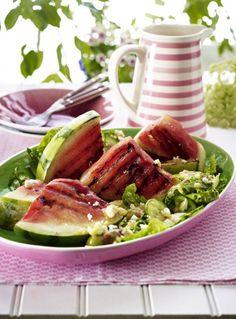 Unser beliebtes Rezept für Gegrillte Melone mit Salat und Feta und mehr als 55.000 weitere kostenlose Rezepte auf LECKER.de.