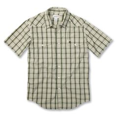 #Carhartt #Workwear: Snap Front Plaid Shirt S/S - find more on http://workstyle.pl/