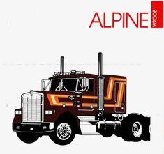 14 Factory Paint Schemes Ideas Paint Schemes Big Trucks Trucks