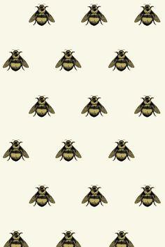 Napoleon Bee Velvet fabric
