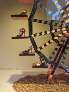 Visual Merchandising Barcelona — windowsandmerchandising: SHOE...