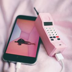 "You'll find yourself bending over backwards for our Hotline Bling Charger. This is a special pink version of our Brick Phone Charger, available exclusively on our web store! Dimensions: 5 1/8"" x 1 1/8"