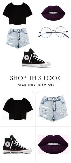 """Untitled #156"" by cruciangyul on Polyvore featuring Max&Co., Boohoo and Converse"