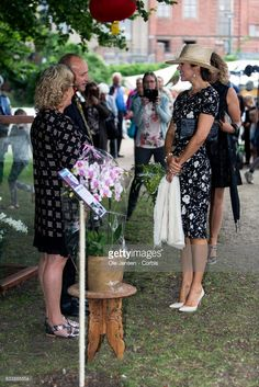 17 August 2017 - Princess Mary opens Odense Flower Festival 2017 - dress by Ralph Lauren Crown Princess Mary, Princess Style, Princess Fashion, Prince Frederick, Queen Margrethe Ii, Princesa Mary, Flower Festival, Danish Royal Family, Danish Royals