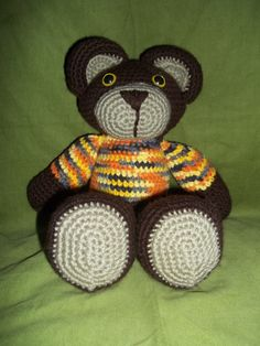 Desert Sunset Teddy Bear by HandcraftedbyJenn on Etsy, $15.00