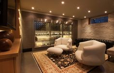 modern wine cellar cable wine system 6